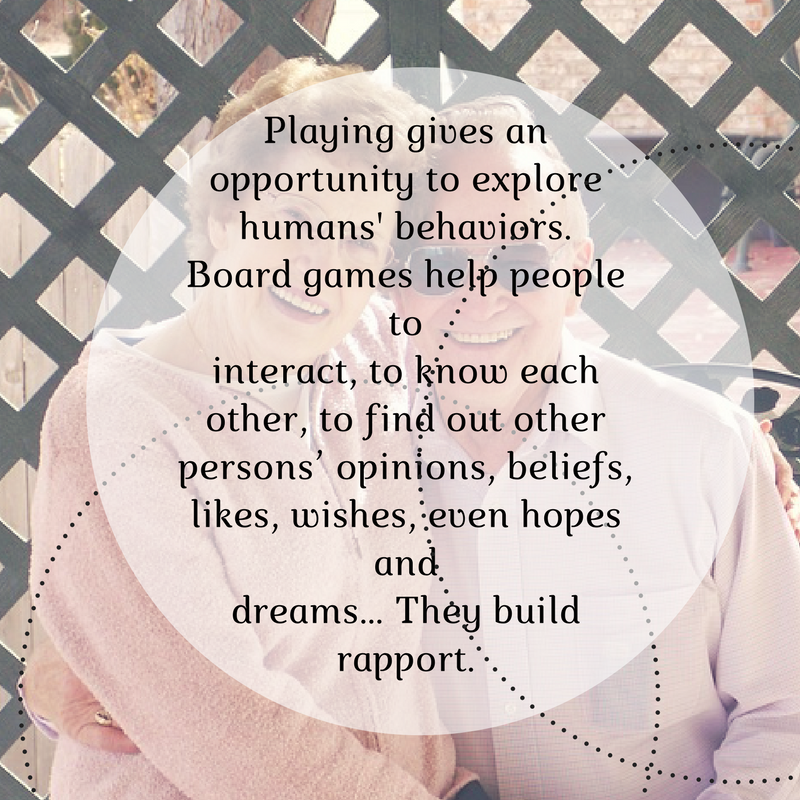 board games help people interact