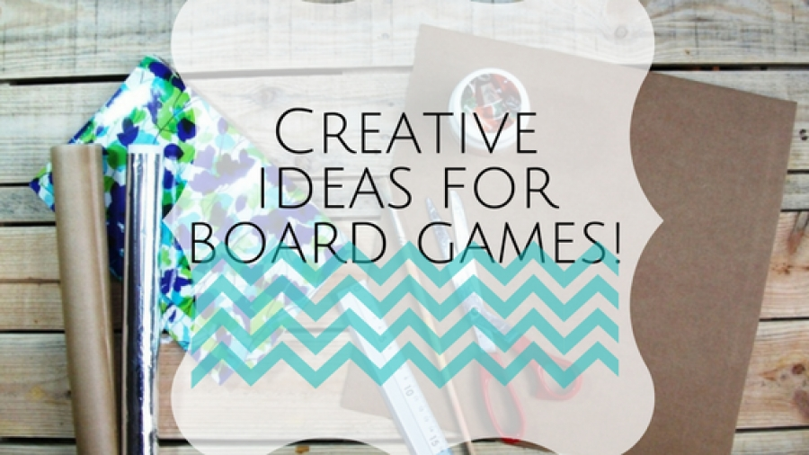 Be creative and make your own board game in 4 easy steps
