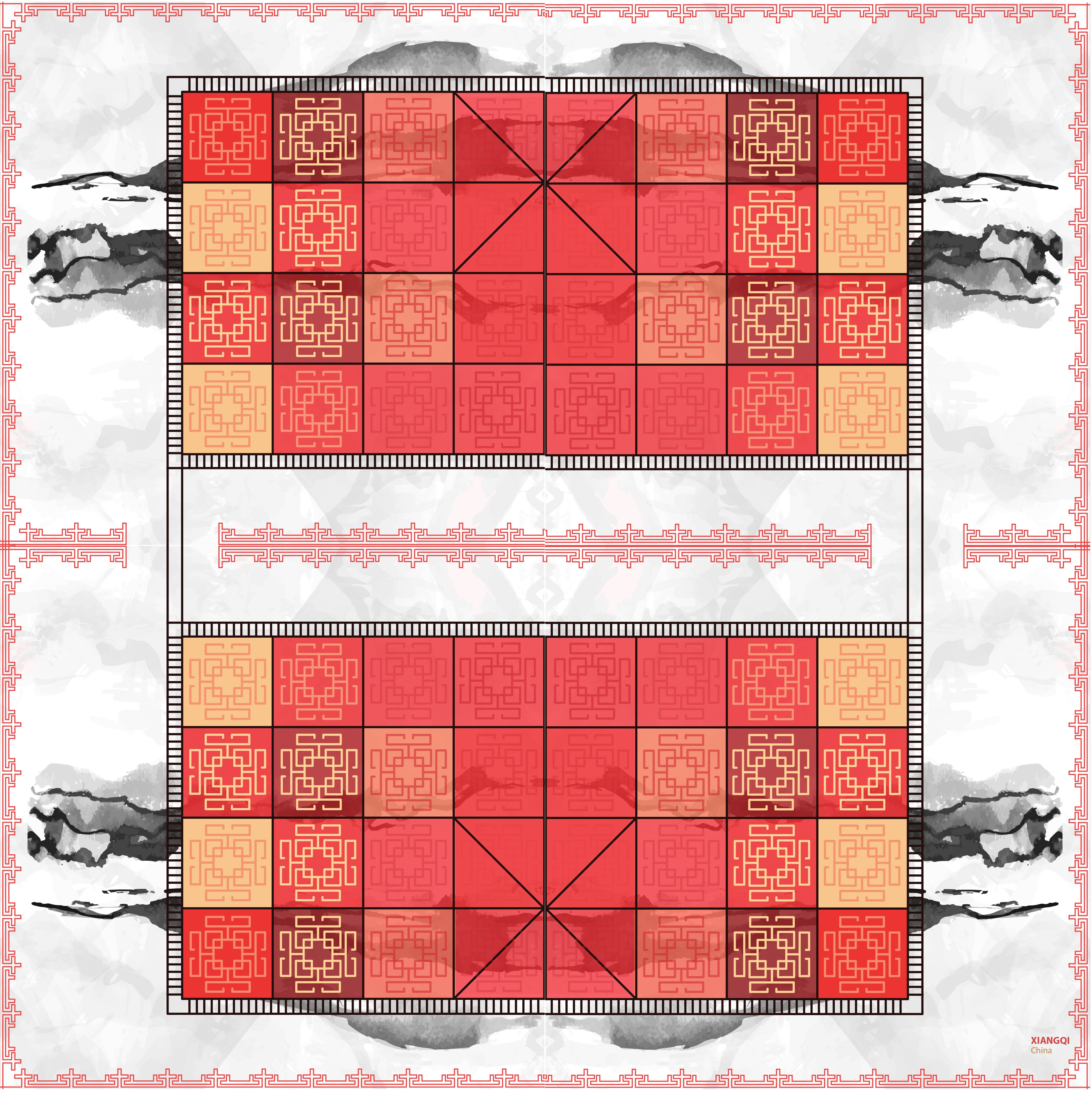 Xiangqi game board