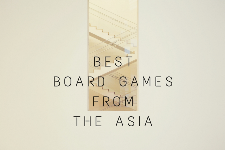 TOP 5 Traditional Asian Board Games